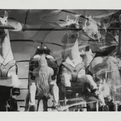 Hans Finsler (1891 - 1972), Karussellpferde, 1929, Silbergelatine © Nachlass Hans Finsler Foto: Stiftung Dome und Schlösser in Sachsen-Anhalt