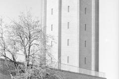 Hans Finsler (1891 - 1972), Wasserturm Süd, 1929, Silbergelatine © Nachlass Hans Finsler Foto: Stiftung Dome und Schlösser in Sachsen-Anhalt