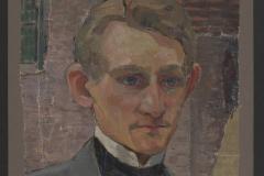 Martha Bernstein (1874–1955), Porträtfragment von Max Sauerland, 1912, Öl auf Leinwand