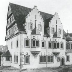 Der Museumsneubau in der Moritzburg, 1904
