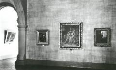 Ausstellungsraum in der Moritzburg mit Werken von Anselm Feuerbach, 1930, Foto: Archiv Kunstmuseum Moritzburg Halle (Saale)